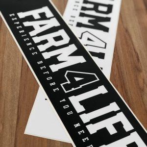 Farm 4 Life Large Sticker
