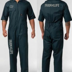 Farm 4 Life Short Sleeve Overalls